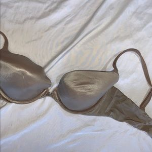 Victorias Secret Very Sexy Push Up Brown Bra 34D